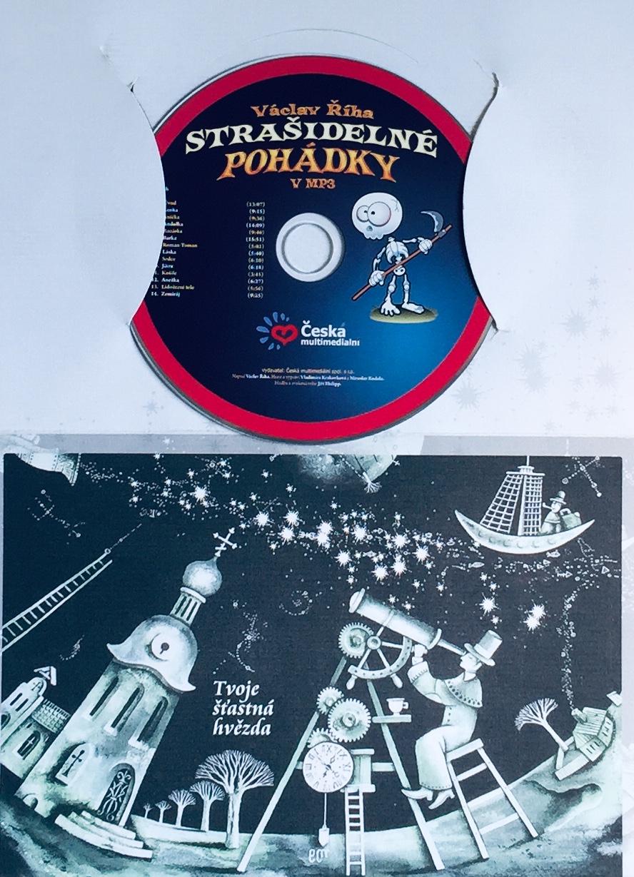 Strašidelné pohádky v MP3 - CD MP3 /dárkový obal/