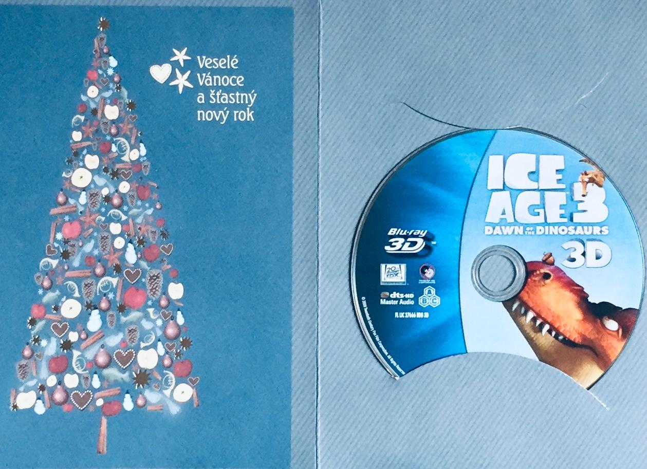 Ice Age 3 / Doba ledová 3 - Úsvit donosaurů - Blu-ray Disc 3D /dárkový obal/