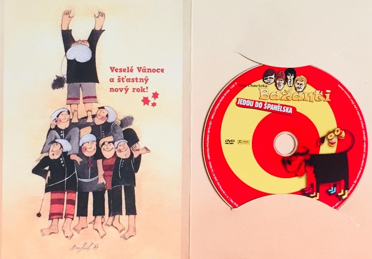 Bažanti jedou do Španělska - DVD /dárkový obal/