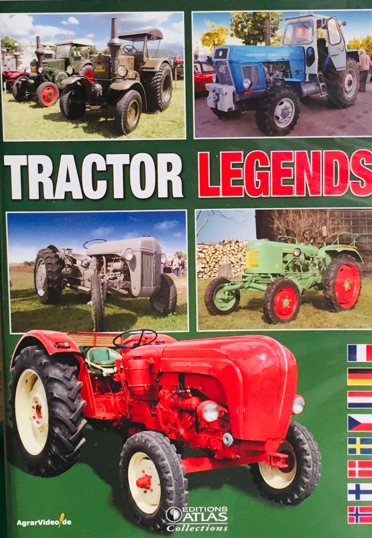 Tractor Legends - DVD /slim/