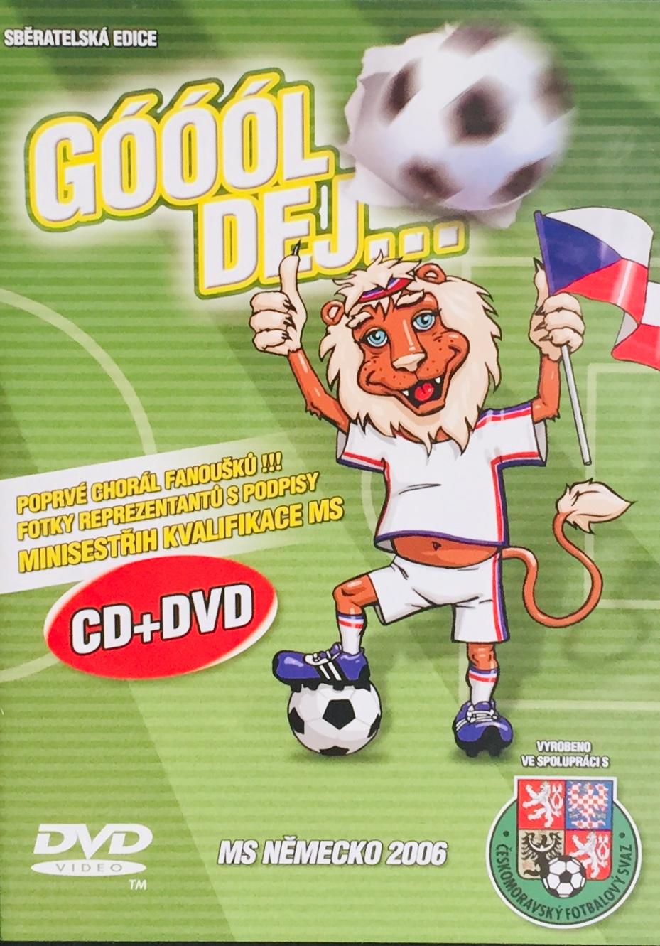 Góóól dej... - MS Německo 2006 - DVD+CD /plast/