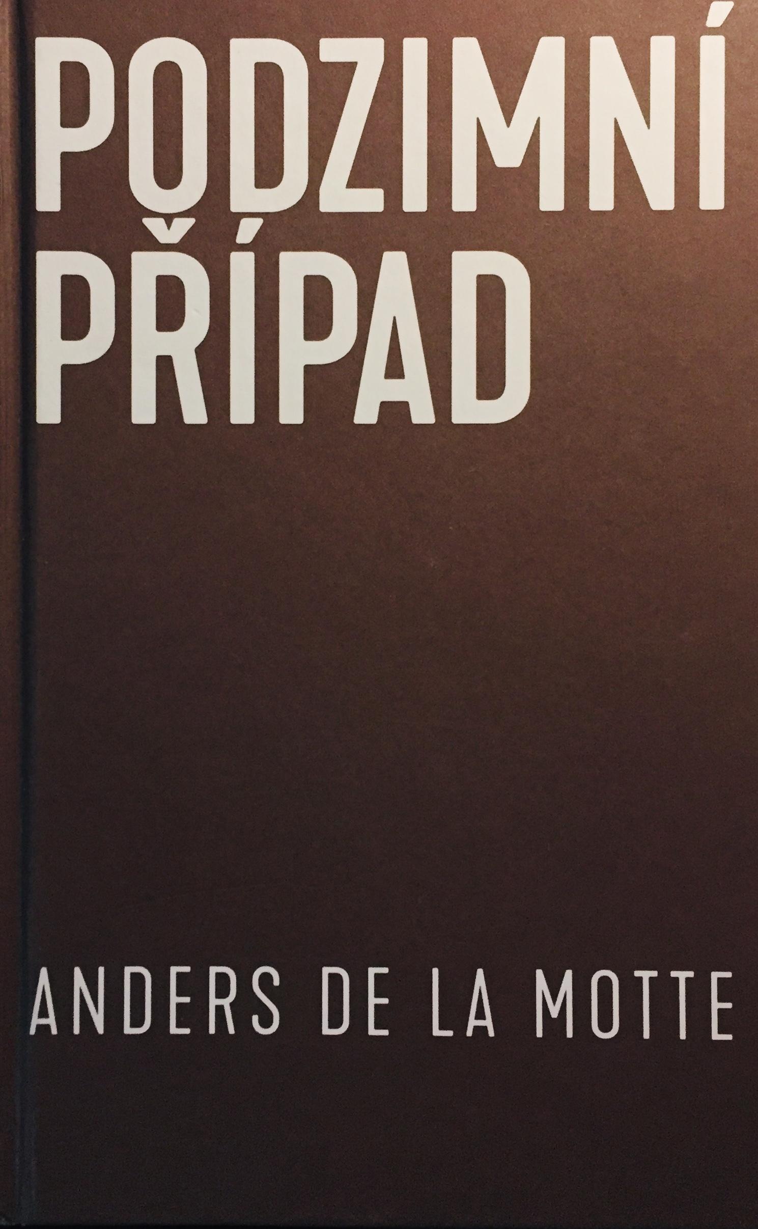 Podzimní případ - Anders de la Motte /bazarové zboží/