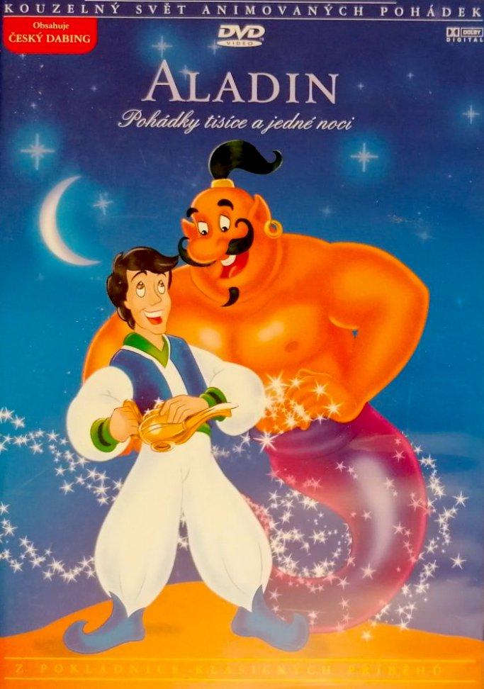 Aladin - DVD /plast/