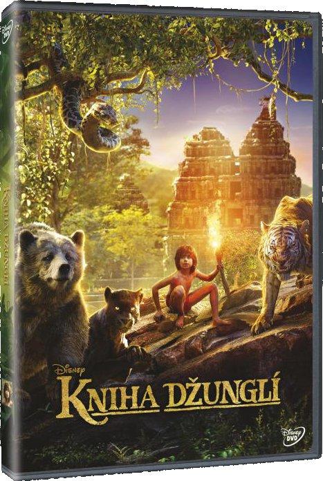 Kniha džunglí - DVD /plast/