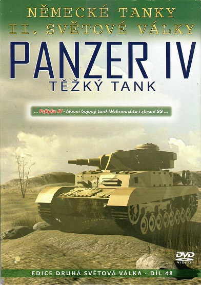 Německé tanky II.světové války - Panzer IV - pošetka DVD