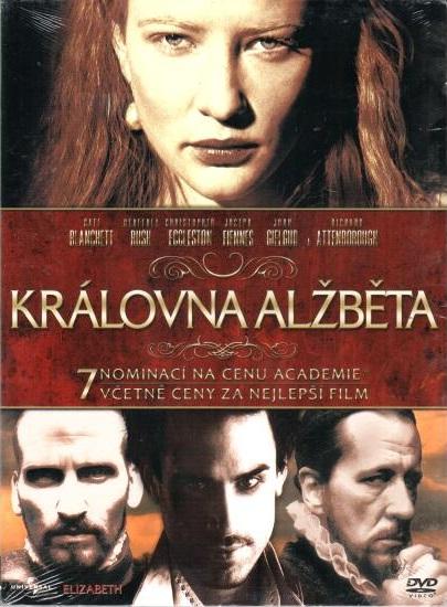 Královna Alžběta - DVD digipack