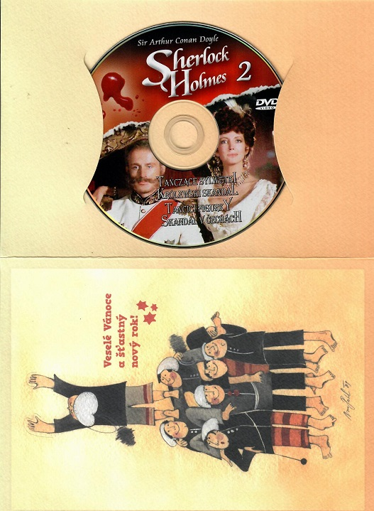 Sherlock Holmes 2 - Skandál v Čechách/ Tančící figurky ( drkový papír obal )- DVD
