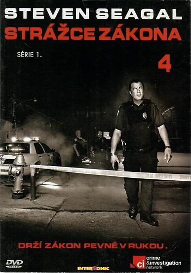 Steven Seagal - Strážce zákona 4, 1.série  - DVD