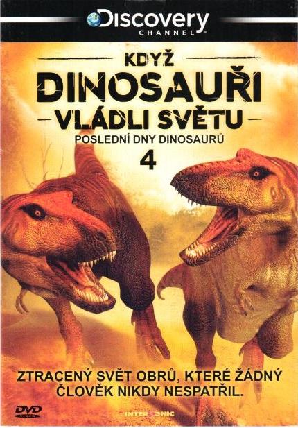 Když dinosauři vládli světu DVD 4