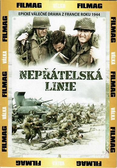 Nepřátelská linie - pošetka DVD