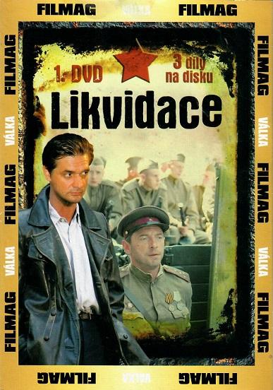 Likvidace 1. - DVD pošetka