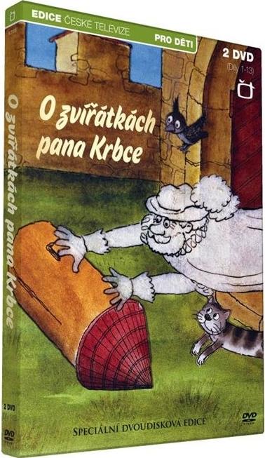 O zvířátkách pana Krbce 2x DVD