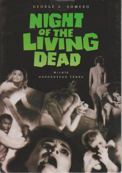 Night of the living dead - Noc oživlých mrtvol - DVD pošetka