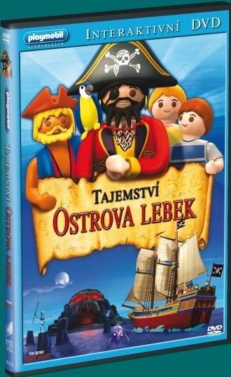 Playmobil: Tajemství ostrova lebek - DVD