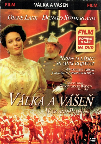 Válka a vášeň ( pošetka ) - DVD