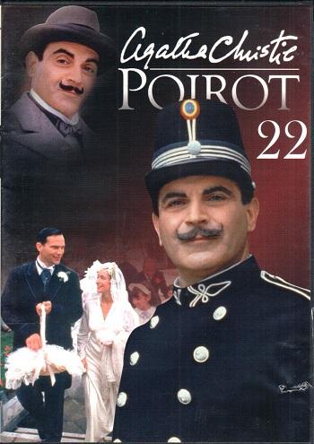 Poirot 22 ( zvuk český ) - DVD