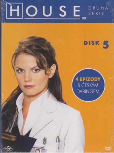 Dr. House - 2. série, disk 5 - DVD