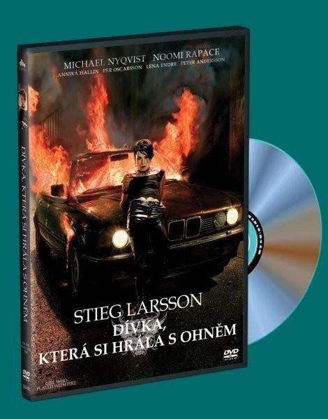 Dívka, která si hrála s ohněm - DVD