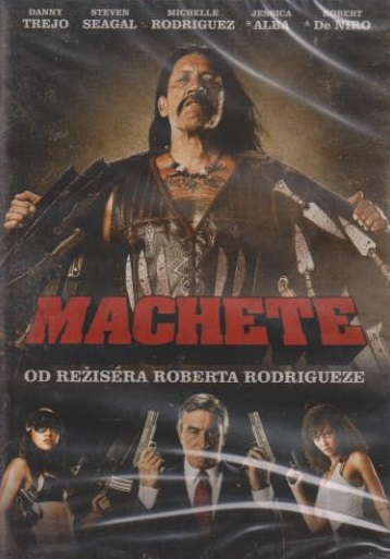 Machete - DVD plast
