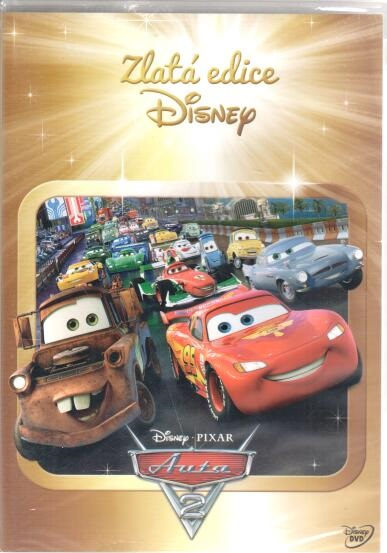 Auta 2 - DVD plast