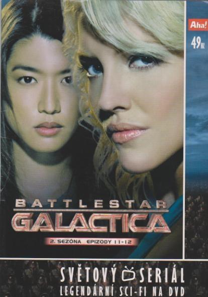 Battlestar Galactica - disk 13 - 2. sezóna, epizody 11-12 - DVD