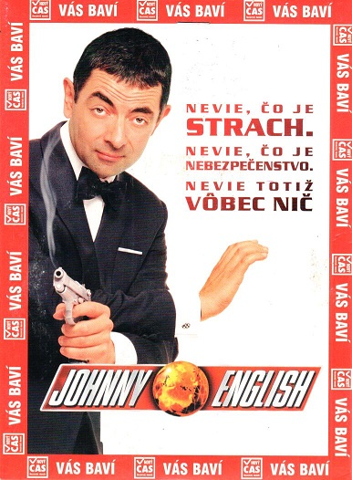 Johnny English - DVD pošetka