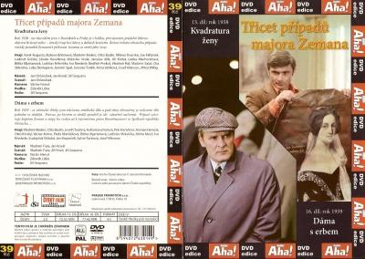 Třicet případů majora Zemana 15, 16 - DVD