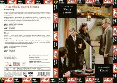 Třicet případů majora Zemana 23, 24 - DVD
