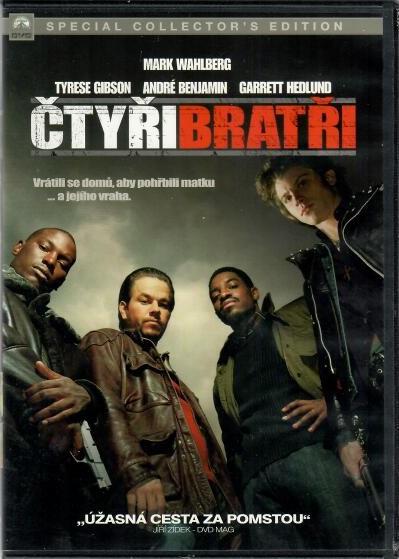 Čtyři bratři - DVD - plast