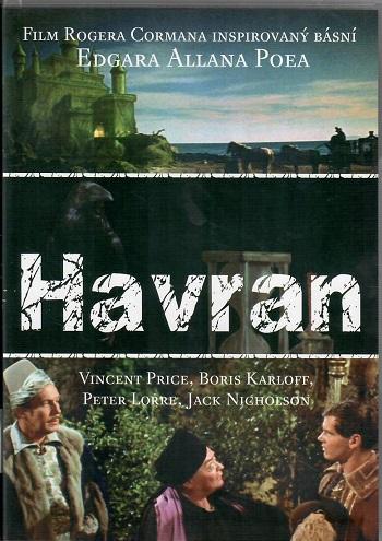 Havran ( film Rogera Cormana ) originální znění, CZ titulky -  plast DVD