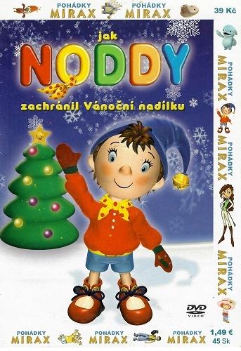 Jak Noddy zachránil Vánoční nadílku - pošetka DVD