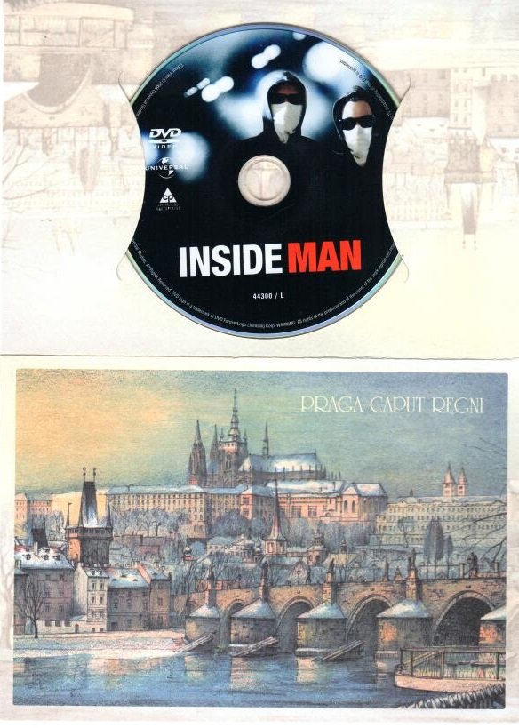 Spojenec - DVD dárková obálka