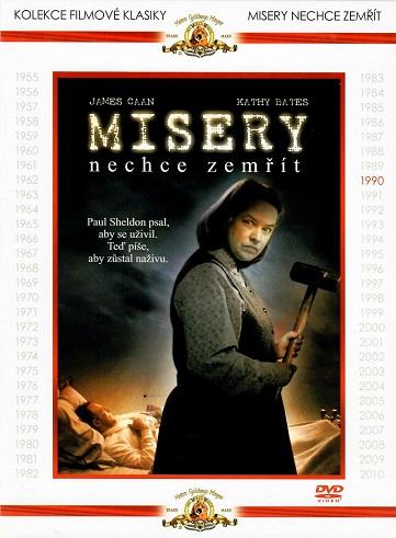 Misery nechce zemřít ( digipack ) - DVD