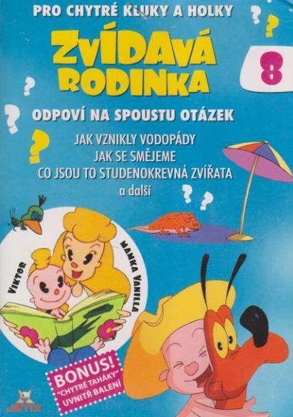 Zvídavá rodinka 8 - DVD