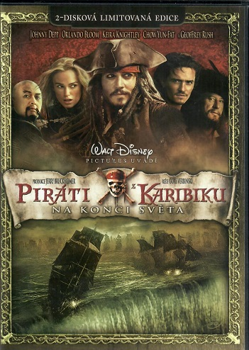 Piráti z Karibiku: Na konci světa ( Plast ) - DVD