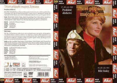 Třicet případů majora Zemana 17, 18 - DVD