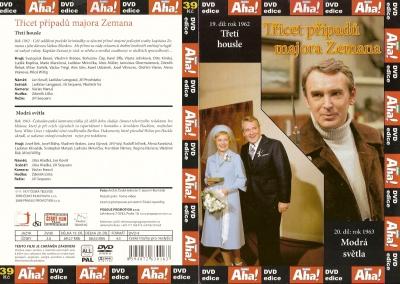Třicet případů majora Zemana 19, 20 - DVD