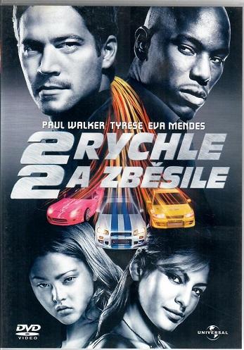 Rychle a zběsile 2 ( plast ) DVD