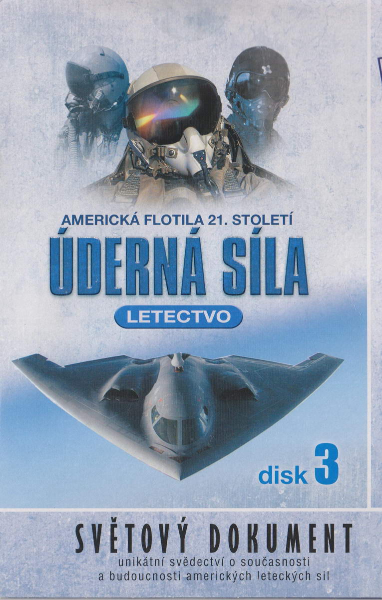 Úderná síla - Letectvo - disk 3 - DVD