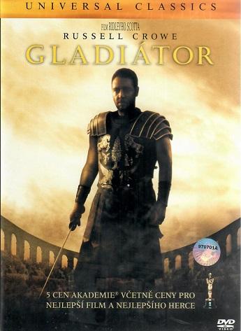 Gladiátor - plast DVD