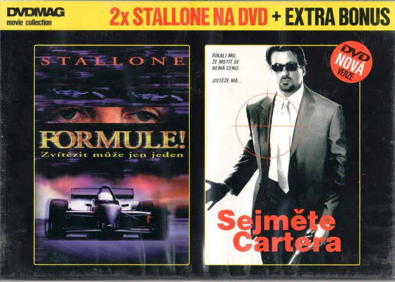 2x Stallone na DVD Formule Sejměte Cartera