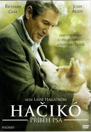 Hačikó: Příběh psa -DVD plast