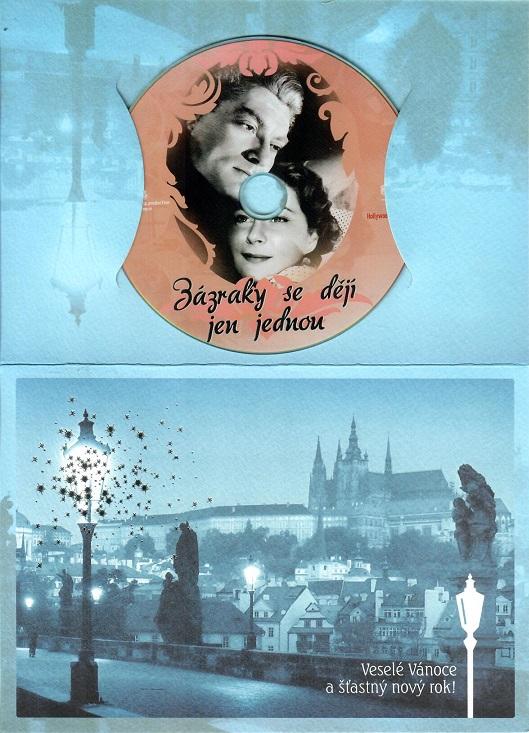 Zázraky se dějí jen jednou ( dárkový papír obal ) - DVD