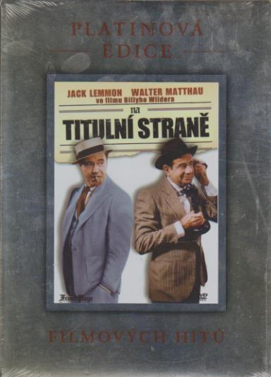 Na titulní straně - DVD