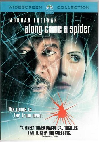 Along came a spider / Jako pavouk ( originální znění s CZ titulky ) - DVD plast