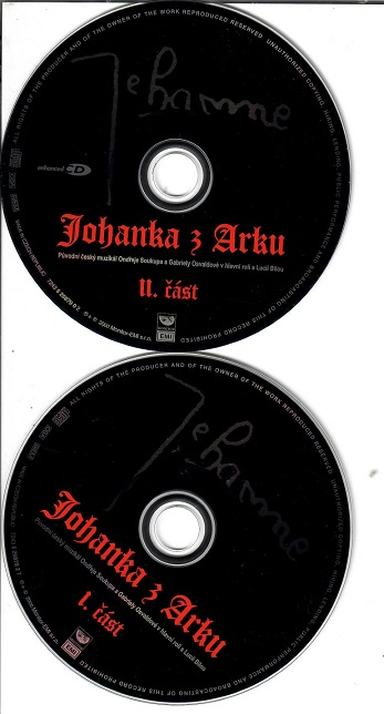 Johanka z Arku 2 CD ( samostatné disky ) - CD