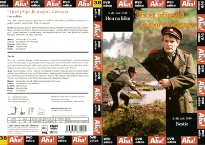 Třicet případů majora Zemana 5, 6 - DVD