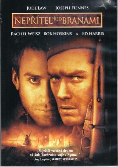 Nepřítel před branami - DVD