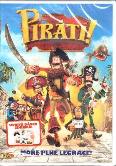 Piráti! - DVD