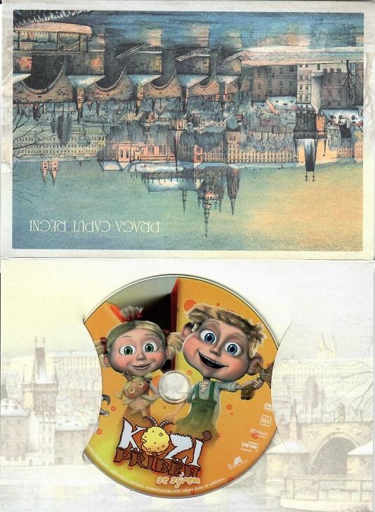 Kozí příběh se sýrem ( dárkový papír obal ) - DVD